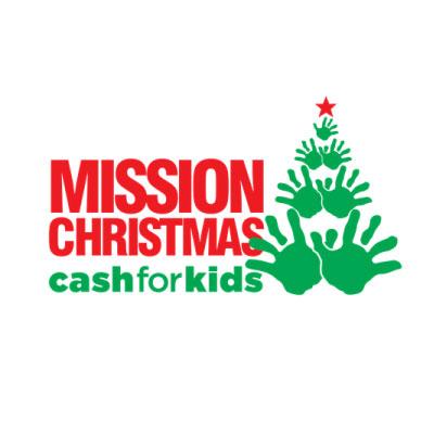 Mission Christmas Cash for Kids Logo